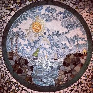 ashram mosaic